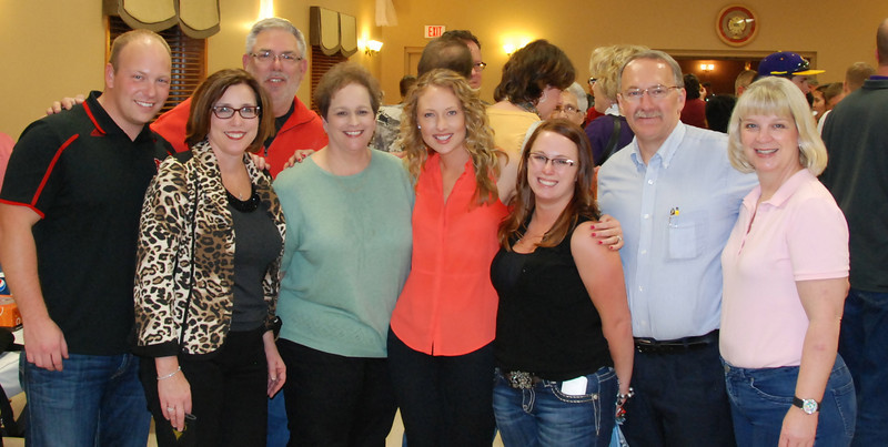Akridges and friends from the Sarpy County Chamber