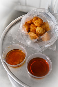Warm Syrup and Fritters