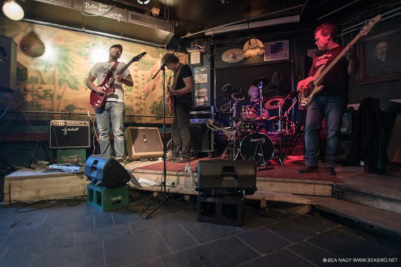 Bonemachine, Podiumcafe Taverne Bergen, The Netherlands