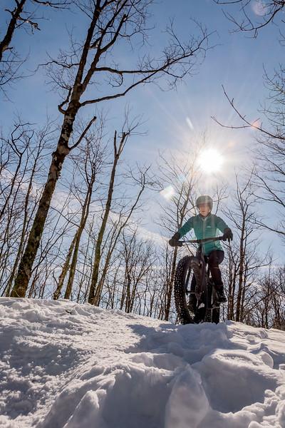 fat bike<br /> sentiers <br /> parc des sommets <br /> C 1 <br /> cani cross