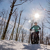 fat bike<br /> sentiers <br /> parc des sommets <br /> C 1 <br /> cani cross