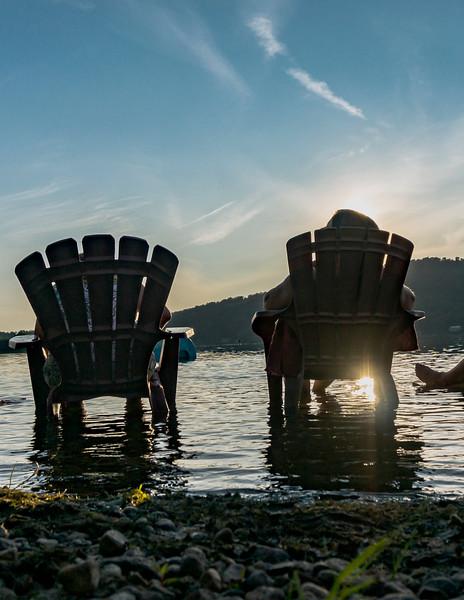 lac Bromont <br /> amis