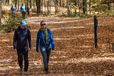 Parc Naturel du Lac Gale employés de la Ville de Bromont automne  couleurs DNLG