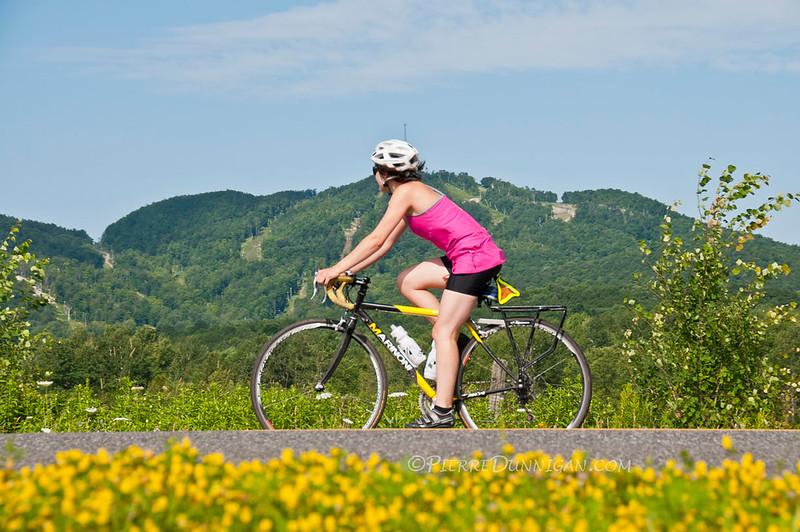 Bromont <br /> vélo <br /> parc équestre