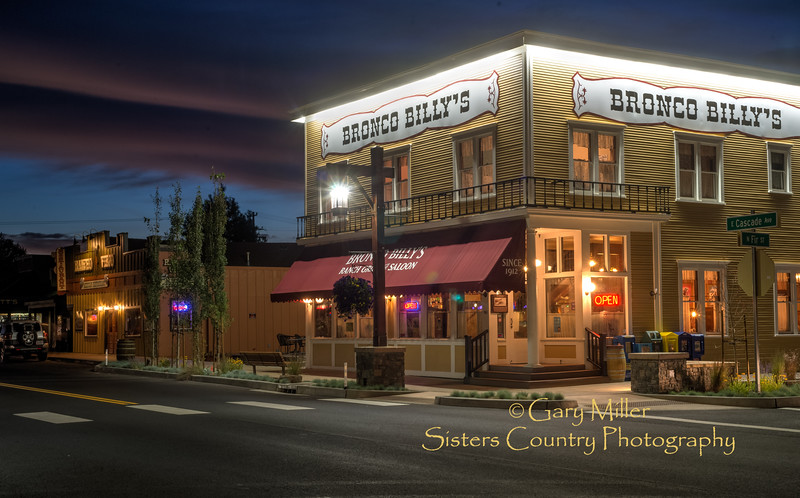 Bronco Billy's Ranch Grill & Saloon - Sisters, Oregon - © 2014 Gary N. Miller, Sisters Country Photography