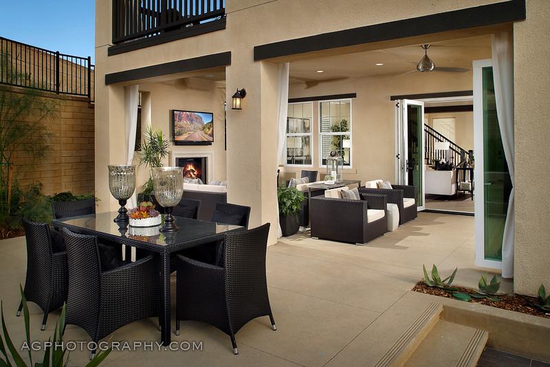 Highglen Models at 5 Knolls by Brookfield Residential, Santa Clarita, CA, 10/23/15.