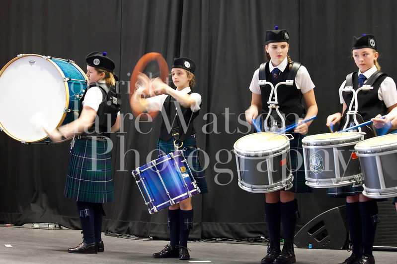 Scottish Schools Pipe Band Championships 2017-16