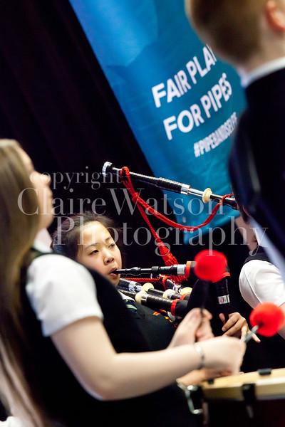 Scottish Schools Pipe Band Championships 2017-9