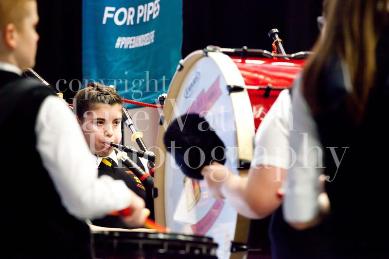 Scottish Schools Pipe Band Championships 2017-8