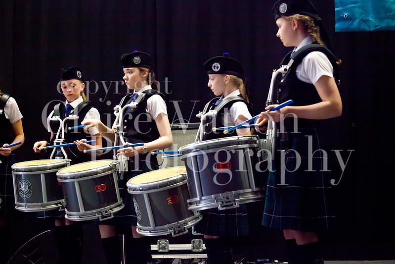 Scottish Schools Pipe Band Championships 2017-17