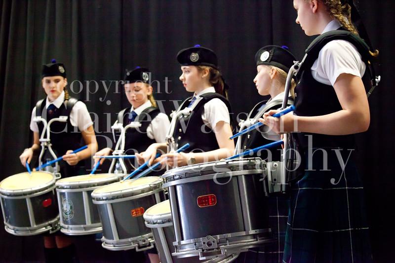 Scottish Schools Pipe Band Championships 2017-19