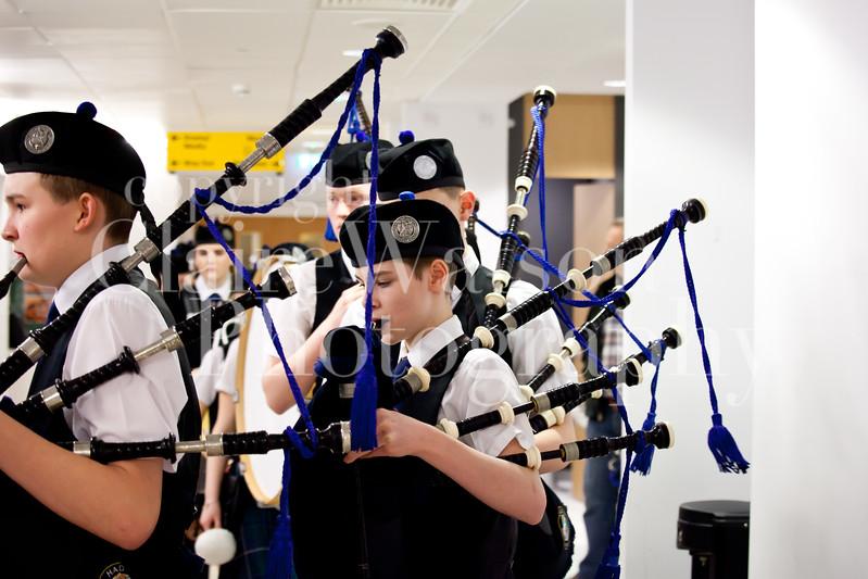 Scottish Schools Pipe Band Championships 2017-14
