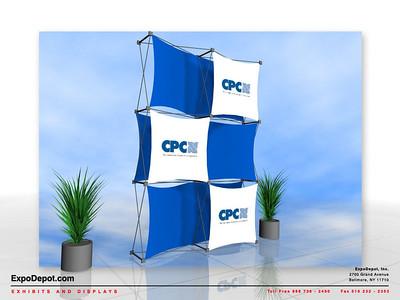 CPC, Xpressions 2x3 Custom Rendering 01 http://expodepot.com/xpressions-stretch-fabric-c-293.html