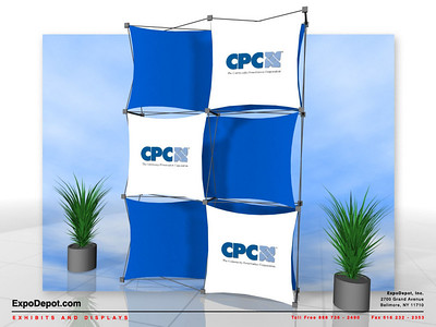 CPC, Xpressions 2x3 Custom Rendering 01 http://expodepot.com/xpressions-stretch-fabric-c-293.html