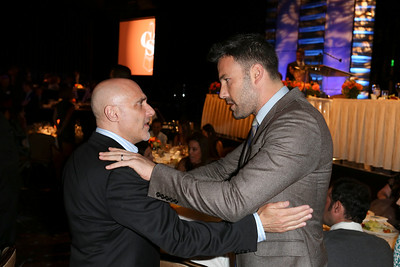From left, Jeff Robinov, President, Warner Bros. Picture Group and actor Ben Affleck, Career Achievement Award winner, talk during the 2012 Casting Society of America Artios Awards held at the Beverly Hilton Hotel on Monday Oct. 29, 2012 in Beverly Hills, Calif. (Photo by Ryan Miller/Capture Imaging)