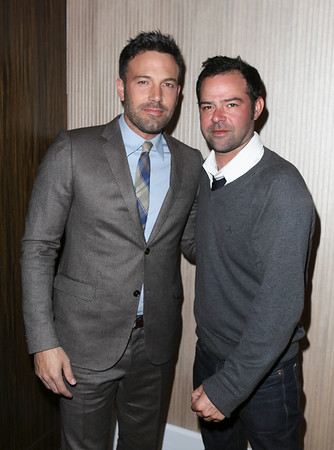 From left, actors Ben Affleck, Career Achievement Award winner, and Rory Cochrane pose at the 2012 Casting Society of America Artios Awards held at the Beverly Hilton Hotel on Monday Oct. 29, 2012 in Beverly Hills, Calif. (Photo by Ryan Miller/Capture Imaging)