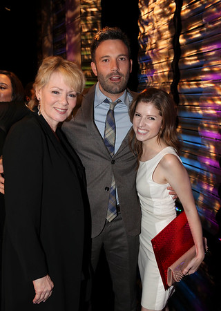 From left, actors Jean Smart, Ben Affleck, Career Achievement Award winner and Anna Kendrick pose during the 2012 Casting Society of America Artios Awards held at the Beverly Hilton Hotel on Monday Oct. 29, 2012 in Beverly Hills, Calif. (Photo by Ryan Miller/Capture Imaging)