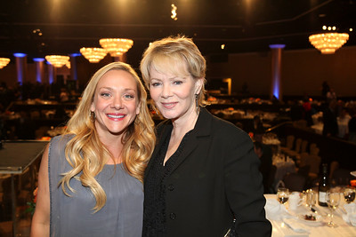 From left, host Nicole Sullivan and actress Jean Smart pose during the 2012 Casting Society of America Artios Awards held at the Beverly Hilton Hotel on Monday Oct. 29, 2012 in Beverly Hills, Calif. (Photo by Ryan Miller/Capture Imaging)