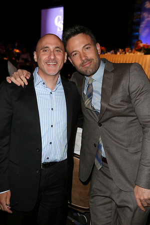 From left, Jeff Robinov, President, Warner Bros. Picture Group and actor Ben Affleck, Career Achievement Award winner, pose during the 2012 Casting Society of America Artios Awards held at the Beverly Hilton Hotel on Monday Oct. 29, 2012 in Beverly Hills, Calif. (Photo by Ryan Miller/Capture Imaging)