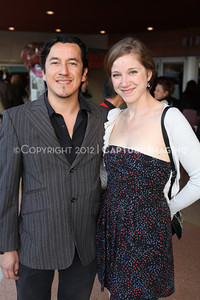 """1203035-013        CULVER CITY, CA - MARCH 11: The opening night performance of """"American Night: The Ballad of Juan Jose"""" at Center Theatre Goup's Kirk Douglas Theatre on March 11, 2012 in Culver City, California. (Photo by Ryan Miller/Capture Imaging)"""