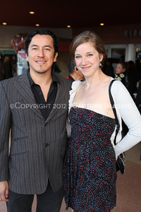 """1203035-012        CULVER CITY, CA - MARCH 11: The opening night performance of """"American Night: The Ballad of Juan Jose"""" at Center Theatre Goup's Kirk Douglas Theatre on March 11, 2012 in Culver City, California. (Photo by Ryan Miller/Capture Imaging)"""