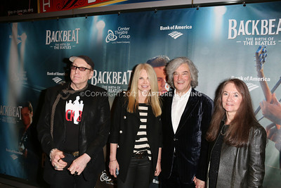 """1301010-044    The opening night performance of """"Backbeat"""" at the Center Theatre Group/Ahmanson Theatre on Wednesday, January 30, 2013 in Los Angeles, Calif. (Photo by Ryan Miller/Capture Imaging)"""