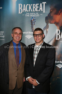 """1301010-013    The opening night performance of """"Backbeat"""" at the Center Theatre Group/Ahmanson Theatre on Wednesday, January 30, 2013 in Los Angeles, Calif. (Photo by Ryan Miller/Capture Imaging)"""