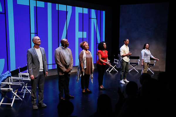 """The Fountain Theatre production of """"Citizen: An American Lyric,"""" at Center Theatre Group's Kirk Douglas Theatre, Culver City, America - 30 April 2017"""