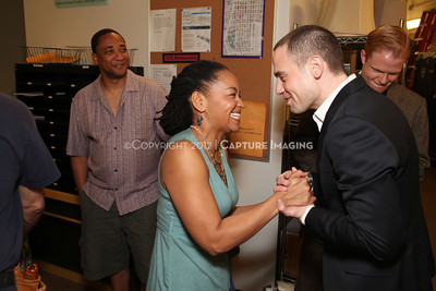 """1202016-046        LOS ANGELES, CA - FEBRAURY 10: """"Clybourne Park"""" Producer and cast photo at Center Theatre Goup's Mark Taper Forum on February 10, 2012 in Los Angeles, California. (Photo by Ryan Miller/Capture Imaging)"""