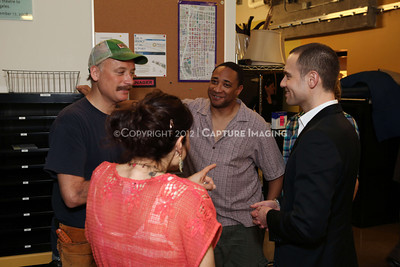 """1202016-025        LOS ANGELES, CA - FEBRAURY 10: """"Clybourne Park"""" Producer and cast photo at Center Theatre Goup's Mark Taper Forum on February 10, 2012 in Los Angeles, California. (Photo by Ryan Miller/Capture Imaging)"""