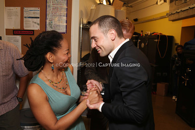 """1202016-048        LOS ANGELES, CA - FEBRAURY 10: """"Clybourne Park"""" Producer and cast photo at Center Theatre Goup's Mark Taper Forum on February 10, 2012 in Los Angeles, California. (Photo by Ryan Miller/Capture Imaging)"""