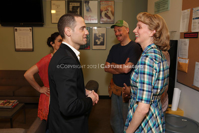"""1202016-035        LOS ANGELES, CA - FEBRAURY 10: """"Clybourne Park"""" Producer and cast photo at Center Theatre Goup's Mark Taper Forum on February 10, 2012 in Los Angeles, California. (Photo by Ryan Miller/Capture Imaging)"""