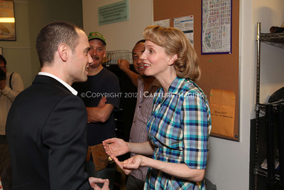 """1202016-026        LOS ANGELES, CA - FEBRAURY 10: """"Clybourne Park"""" Producer and cast photo at Center Theatre Goup's Mark Taper Forum on February 10, 2012 in Los Angeles, California. (Photo by Ryan Miller/Capture Imaging)"""