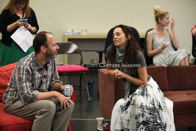 """1206174-030    LOS ANGELES, CA - JUNE 8: The rehearsal of """"Council"""" by Padraic Duffy at the Center Theatre Goup annex on June 8, 2012 in Los Angeles, California. (Photo by Ryan Miller/Capture Imaging)"""