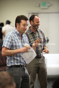 """1206174-011    LOS ANGELES, CA - JUNE 8: The rehearsal of """"Council"""" by Padraic Duffy at the Center Theatre Goup annex on June 8, 2012 in Los Angeles, California. (Photo by Ryan Miller/Capture Imaging)"""