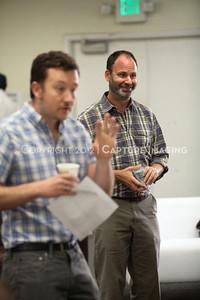 """1206174-010    LOS ANGELES, CA - JUNE 8: The rehearsal of """"Council"""" by Padraic Duffy at the Center Theatre Goup annex on June 8, 2012 in Los Angeles, California. (Photo by Ryan Miller/Capture Imaging)"""
