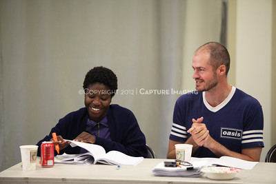 """1206174-023    LOS ANGELES, CA - JUNE 8: The rehearsal of """"Council"""" by Padraic Duffy at the Center Theatre Goup annex on June 8, 2012 in Los Angeles, California. (Photo by Ryan Miller/Capture Imaging)"""