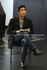 """1206174-046    LOS ANGELES, CA - JUNE 8: The rehearsal of """"Council"""" by Padraic Duffy at the Center Theatre Goup annex on June 8, 2012 in Los Angeles, California. (Photo by Ryan Miller/Capture Imaging)"""