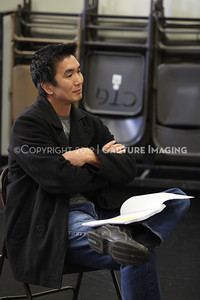 """1206174-042    LOS ANGELES, CA - JUNE 8: The rehearsal of """"Council"""" by Padraic Duffy at the Center Theatre Goup annex on June 8, 2012 in Los Angeles, California. (Photo by Ryan Miller/Capture Imaging)"""