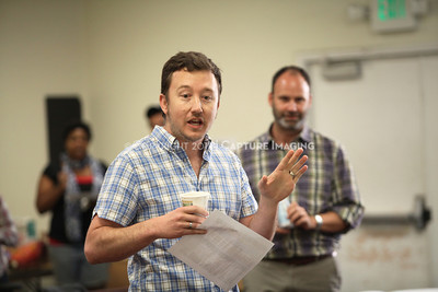 """1206174-008    LOS ANGELES, CA - JUNE 8: The rehearsal of """"Council"""" by Padraic Duffy at the Center Theatre Goup annex on June 8, 2012 in Los Angeles, California. (Photo by Ryan Miller/Capture Imaging)"""