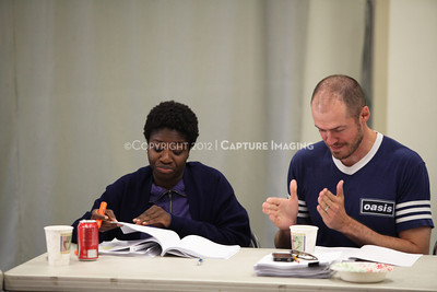 """1206174-021    LOS ANGELES, CA - JUNE 8: The rehearsal of """"Council"""" by Padraic Duffy at the Center Theatre Goup annex on June 8, 2012 in Los Angeles, California. (Photo by Ryan Miller/Capture Imaging)"""
