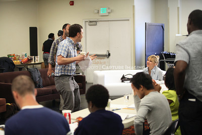 """1206174-009    LOS ANGELES, CA - JUNE 8: The rehearsal of """"Council"""" by Padraic Duffy at the Center Theatre Goup annex on June 8, 2012 in Los Angeles, California. (Photo by Ryan Miller/Capture Imaging)"""