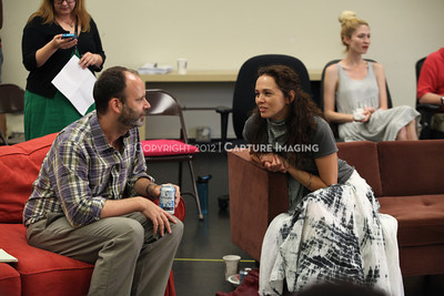 """1206174-031    LOS ANGELES, CA - JUNE 8: The rehearsal of """"Council"""" by Padraic Duffy at the Center Theatre Goup annex on June 8, 2012 in Los Angeles, California. (Photo by Ryan Miller/Capture Imaging)"""