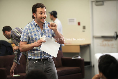 """1206174-018    LOS ANGELES, CA - JUNE 8: The rehearsal of """"Council"""" by Padraic Duffy at the Center Theatre Goup annex on June 8, 2012 in Los Angeles, California. (Photo by Ryan Miller/Capture Imaging)"""
