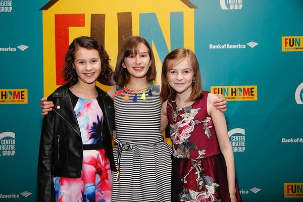 """Fun Home"" Center Theatre Group/Ahmanson Theatre Opening, Los Angeles, America - 22 Feb 2017"