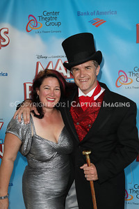 "1208197-035     The opening night performance of ""Mary Poppins"" at the Center Theatre Group/Ahmanson Theatre on Friday,  Aug. 10, 2012, in Los Angeles, Calif. (Photo by Ryan Miller/Capture Imaging)"