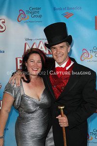 "1208197-034     The opening night performance of ""Mary Poppins"" at the Center Theatre Group/Ahmanson Theatre on Friday,  Aug. 10, 2012, in Los Angeles, Calif. (Photo by Ryan Miller/Capture Imaging)"