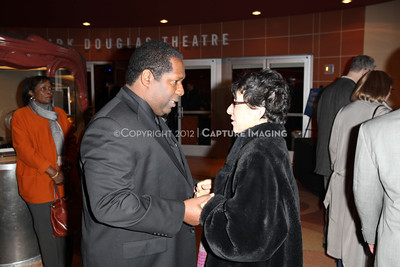 """1201006-027        CULVER CITY, CA - JANUARY 22: The opening night performance of Ebony Repertory Theatre's production of """"A Raisin in the Sun"""" at Center Theatre Group / Kirk Douglas Theatre on January 22, 2012 in Culver City, California. (Photo by Ryan Miller/Capture Imaging)"""