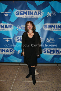 """1210241-012    LOS ANGELES, CA - OCTOBER 17: The opening night performance of """"Seminar"""" at Center Theatre Goup/Ahmanson Theatre on October 17, 2012 in Los Angeles, California. (Photo by Ryan Miller/Capture Imaging)"""