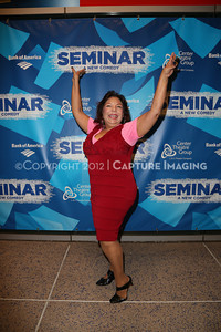 """1210241-021    LOS ANGELES, CA - OCTOBER 17: The opening night performance of """"Seminar"""" at Center Theatre Goup/Ahmanson Theatre on October 17, 2012 in Los Angeles, California. (Photo by Ryan Miller/Capture Imaging)"""
